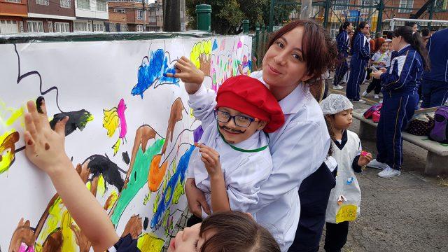 ¡NUEVA CLASE DE ARTES PLÁSTICAS EN EL GPNSF!